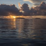 Sunrise in the Vava'u Group, Tonga